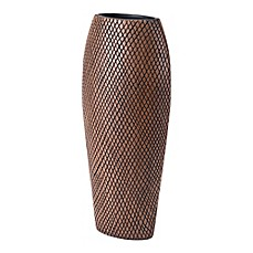 zuo tall cuadra vase in brown - Floor Vase