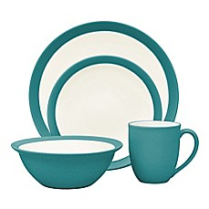 image of Noritake® Colorwave Curve Dinnerware Collection in Turquoise