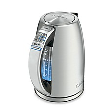 image of Cuisinart® PerfecTemp™ Stainless Steel Cordless Programmable Electric Kettle