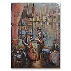 image of 3D Musical Quartet Wall Art