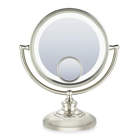 Conair 174 Fluorescent 1x 10x 15x Fluorescent Mirror With