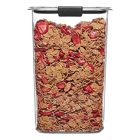 Rubbermaid Brilliance 19.9 Cup Cereal Dry Storage Container