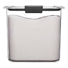 image of Rubbermaid Brilliance 12-Cup Sugar Dry Storage Container