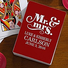 image of Happy Couple 54-Count Playing Cards
