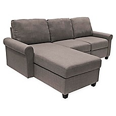 Serta® Copenhagen Left Facing Reclining Sectional Sofa With Storage