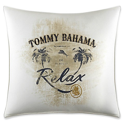 Buy Tommy Bahama 174 Palms Away Quot Relax Quot Square Throw Pillow