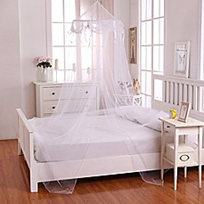 image of Casablanca Kids Buttons u0026 Bows Bed Canopy & Bed Canopies u0026 Mosquito Nets - Bed Bath u0026 Beyond