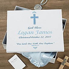 image of Baptism Day Keepsake Memory Box