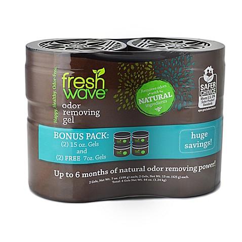 fresh wave double bonus odor removing gel pack bed bath. Black Bedroom Furniture Sets. Home Design Ideas