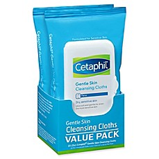 image of Cetaphil® 2-Count Gentle Skin Cleansing Cloths