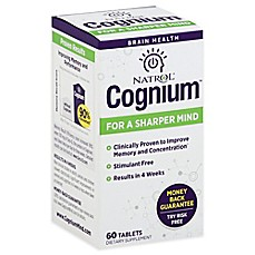 Image Of Natrol® 60 Count Cognium Tablets