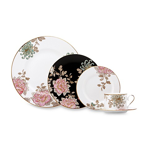 Marchesa by Lenoxu0026reg; Painted Camellia Dinnerware  sc 1 st  Bed Bath u0026 Beyond & Marchesa by Lenox® Painted Camellia Dinnerware - Bed Bath u0026 Beyond