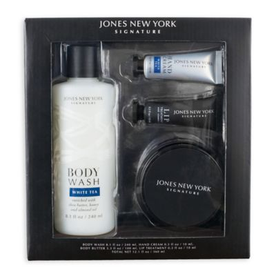 image of Jones New York 4-Piece Signature Classic Spa Gift Set in Black