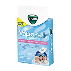 image of Vicks® 12-Count Sleepy Time Lavender/Rosemary Vaporizer Refill Pads