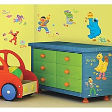 image of Sesame Street Wall Decals