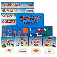 image of Teach My™ Toddler All-In-One Learning Kit