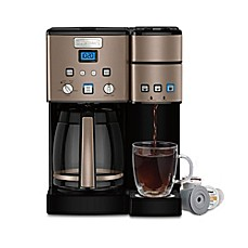 image of Cuisinart® Coffee Center™ 12-Cup Coffee Maker and Single Serve Brewer