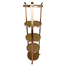 image of Enclume® 5-Tier Unassembled Round Stand in Brushed Copper