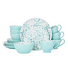 image of Pfaltzgraff® Venice 16-Piece Dinnerware Set in Teal