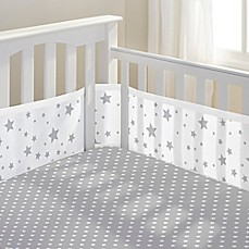 Image Of Breathablebaby Star Light Clic Crib Bedding Collection In Grey