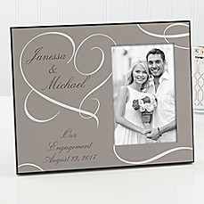 image of Our Engagement Picture Frame