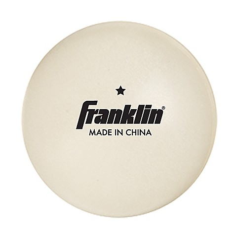 Buy franklin sports 40mm 1 star table tennis balls set for 1 star table tennis balls