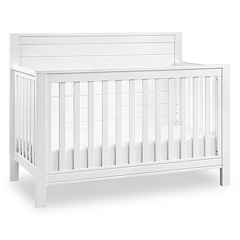 DaVinci Fairway 4-in-1 Convertible Crib in Rustic White - buybuy BABY