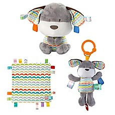 image of Bright Starts™ Baby's First Taggies 3-Piece Gift Set