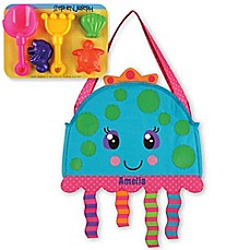 image of Stephen Joseph® Jellyfish Beach Tote with Sand Toys