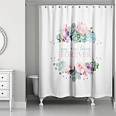 Style Lounge Shower Curtain. Designs Direct You Are Loved Forever 74 Inch x 71 Shower Curtain in style lounge shower curtain  Bed Bath Beyond