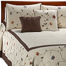image of Ambria Chocolate Bedspread