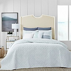image of Coastal Living® Shadow Palm Quilt Set