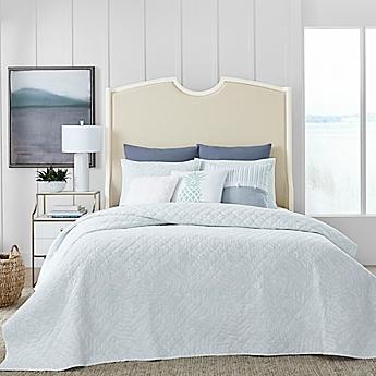 Image Of Coastal Living® Shadow Palm Quilt Set