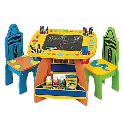 Crayolau0026reg; Growu0026#39;n Up Wooden Table and Chair Set  sc 1 st  Bed Bath u0026 Beyond & Crayola® Growu0027n Up Wooden Table and Chair Set - Bed Bath u0026 Beyond