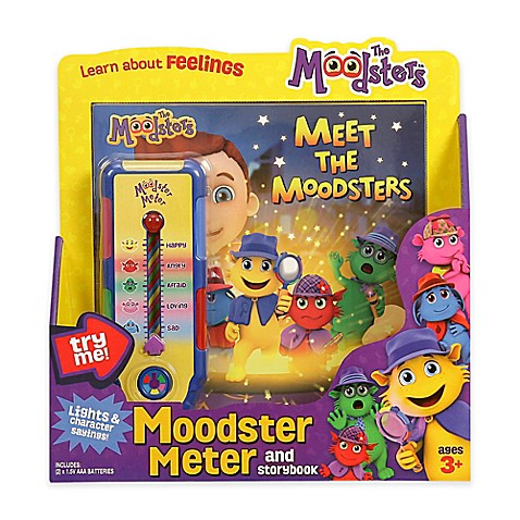 The Moodsters™ Feelings Thermometer and Storybook