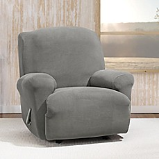 Image Of Sure FitR Stretch Morgan Recliner Cover