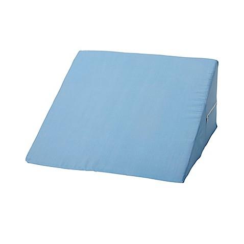 Foam Pillow Wedge In Blue Bed Bath Amp Beyond