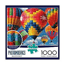 image of Buffalo Games™ 1000-Piece Photomosaics Balloon Race Jigsaw Puzzle
