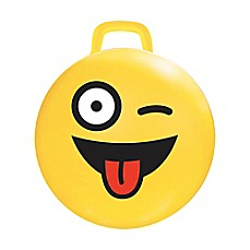 image of MegaFun USA #Crazy Emoji Hop Hop Bouncer