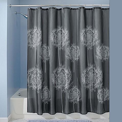 InterDesignreg Dandelion Shower Curtain