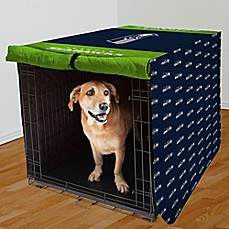 image of nfl seattle seahawks 42inch pet crate cover