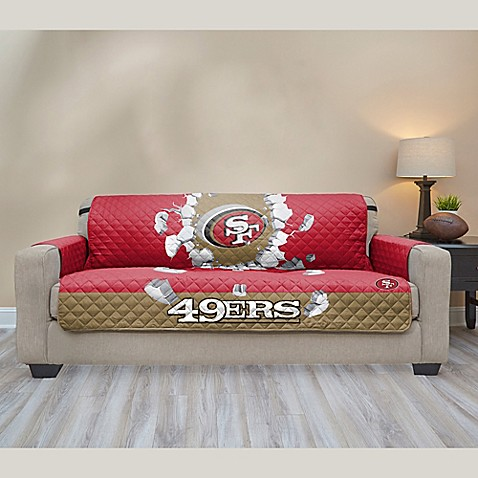 Buy Nfl San Francisco 49ers Sofa Cover From Bed Bath Amp Beyond