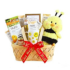 image of California Delicious Bee Well Gift Basket