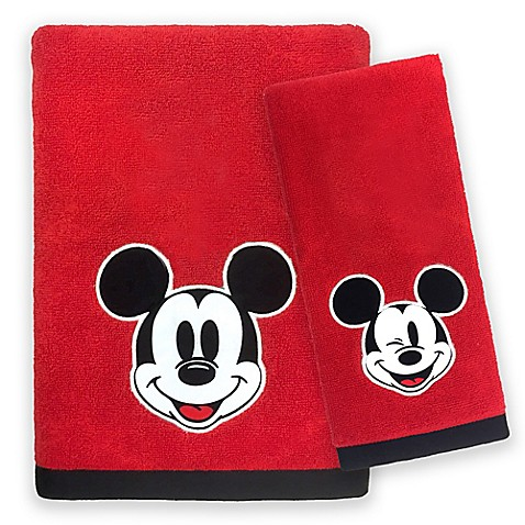 Disney Mickey Mouse Big Face Bath Towel Collection Bed Bath Beyond