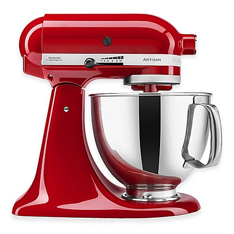 KitchenAidu0026reg; Artisanu0026reg; 5 qt. Stand Mixer  sc 1 st  Bed Bath u0026 Beyond & KitchenAid® Artisan® 5 qt. Stand Mixer - Bed Bath u0026 Beyond