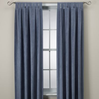 Microsuede Window Curtain Panel Bed Bath Amp Beyond