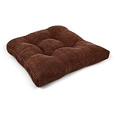 Therapedic® Memory Foam Chair Pad In Brown