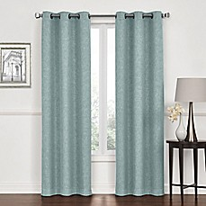 image of Lawson Grommet Top Room Darkening Window Curtain Panel Pair