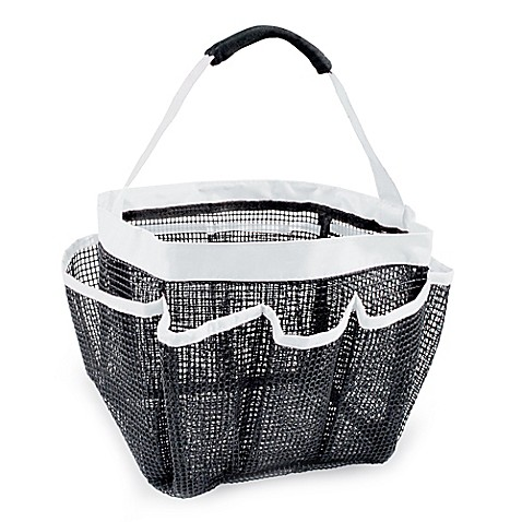 DII Oceanique Mesh Collapsible Shower Caddy - Bed Bath & Beyond