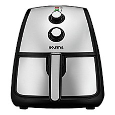 image of Gourmia® Fryista 5-Quart Air Fryer in Black/Stainless Steel